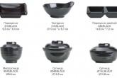 Посуда из меламина. Серия :: Black