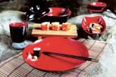 Посуда из меламина. Серия :: Black&Red